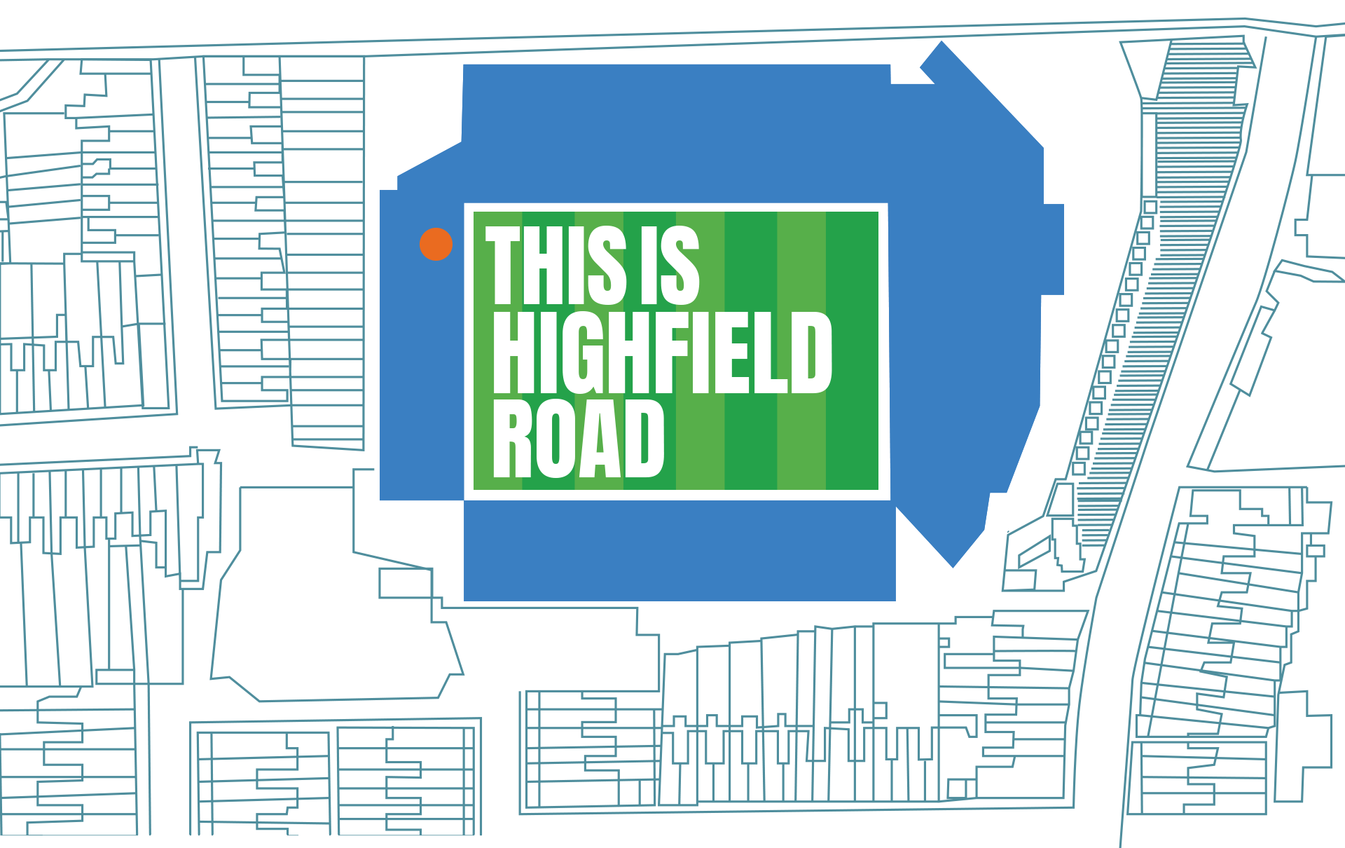 Highfield Road Stadium Layout